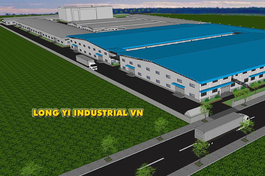 Nhà máy sản xuất công ty TNHH Long Yi Industrial Việt Nam