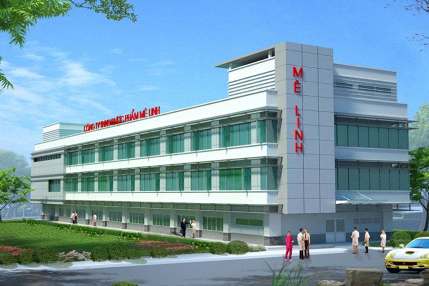 Nhà máy dược phẩm MELIPHAR - GMP - WHO -  CLASS 100,000